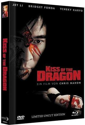 Kiss of the Dragon (2001) (Cover A, Extended Edition, Collector's Edition Limitata, Mediabook, Uncut, Blu-ray + DVD)