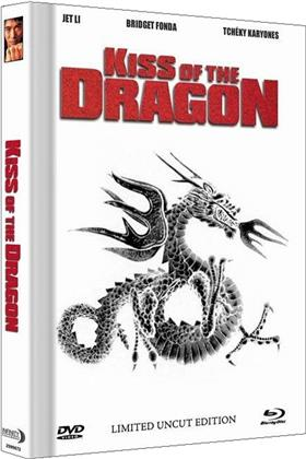 Kiss of the Dragon (2001) (Cover B, Extended Edition, Collector's Edition Limitata, Mediabook, Uncut, Blu-ray + DVD)
