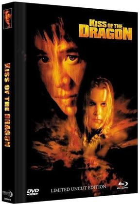 BR+DVD Kiss of the Dragon - 2-Disc Mediabook (2001) (Cover C, Extended Edition, Collector's Edition Limitata, Mediabook, Uncut, Blu-ray + DVD)