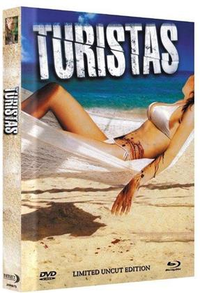Turistas (2006) (Cover B, Limited Collector's Edition, Mediabook, Uncut, Blu-ray + DVD)
