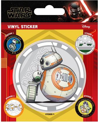 Star Wars: The Rise of Skywalker - Droids - Vinyl Sticker Pack