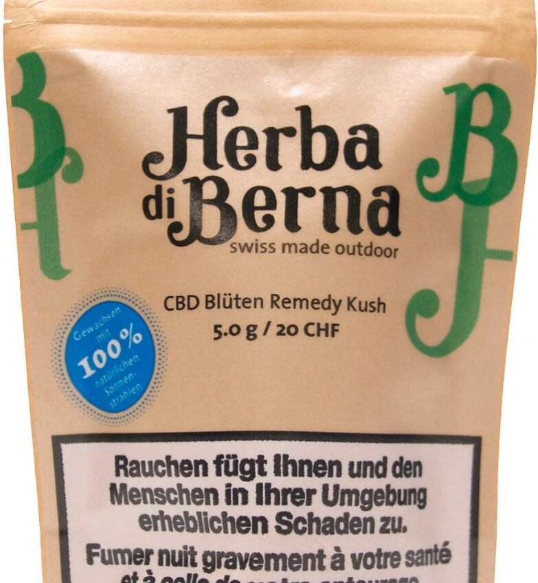 Herba di Berna Remedy Kush (5g) - Outdoor (CBD: 3.1% THC: 0.11%)