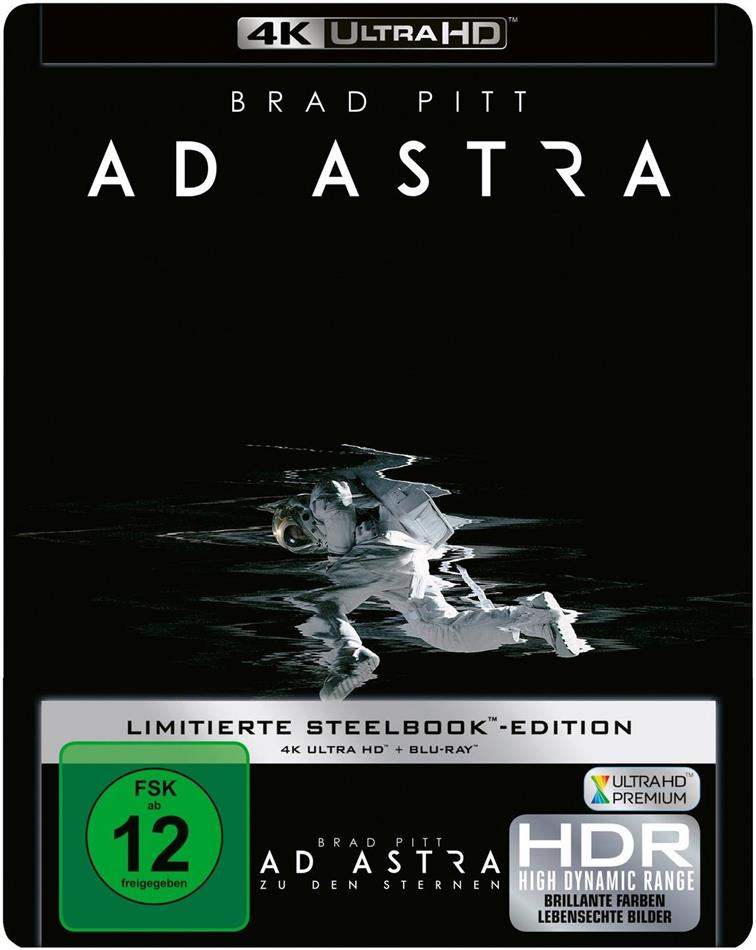 Ad Astra - Zu den Sternen (2019) (Limited Edition, Steelbook, 4K Ultra HD + Blu-ray)