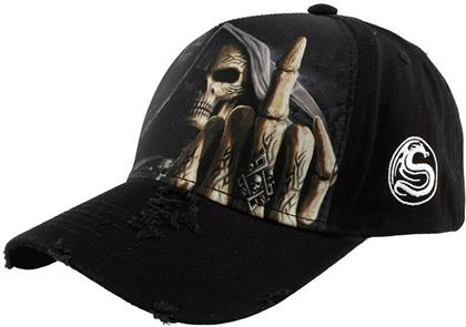 Spiral - Bone Finger - Baseball Cap