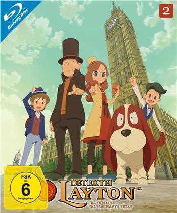Detektei Layton - Katrielles rätselhafte Fälle - Vol. 2 (2 Blu-rays)