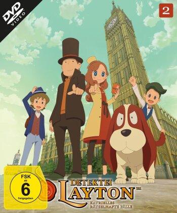 Detektei Layton - Katrielles rätselhafte Fälle - Vol. 2 (2 DVDs)