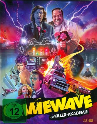 Crimewave - Die Killer-Akademie (1985) (Cover A, Mediabook, Blu-ray + DVD)