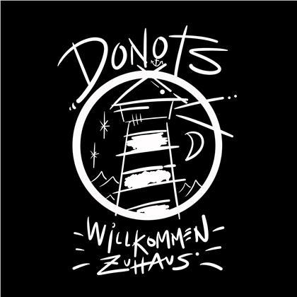 """Donots - Willkommen Zuhaus (White Vinyl, 7"""" Single)"""