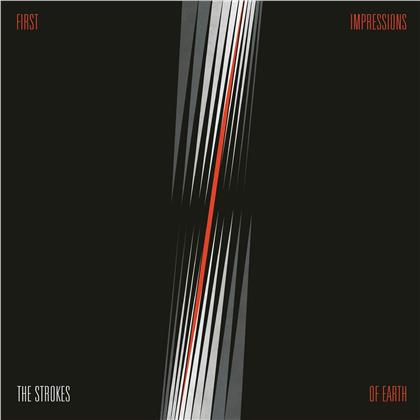 The Strokes - First Impressions Of Earth (2020 Reissue, RCA, Silver Coloured Vinyl, LP)