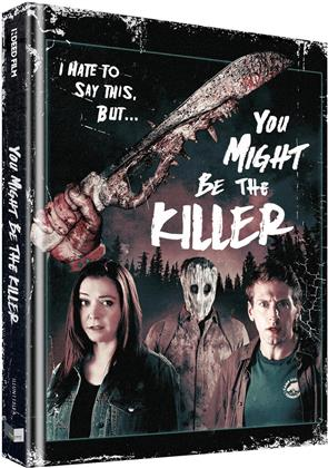 You Might Be the Killer (2018) (Cover B, Collector's Edition Limitata, Mediabook, Uncut, Blu-ray + DVD)