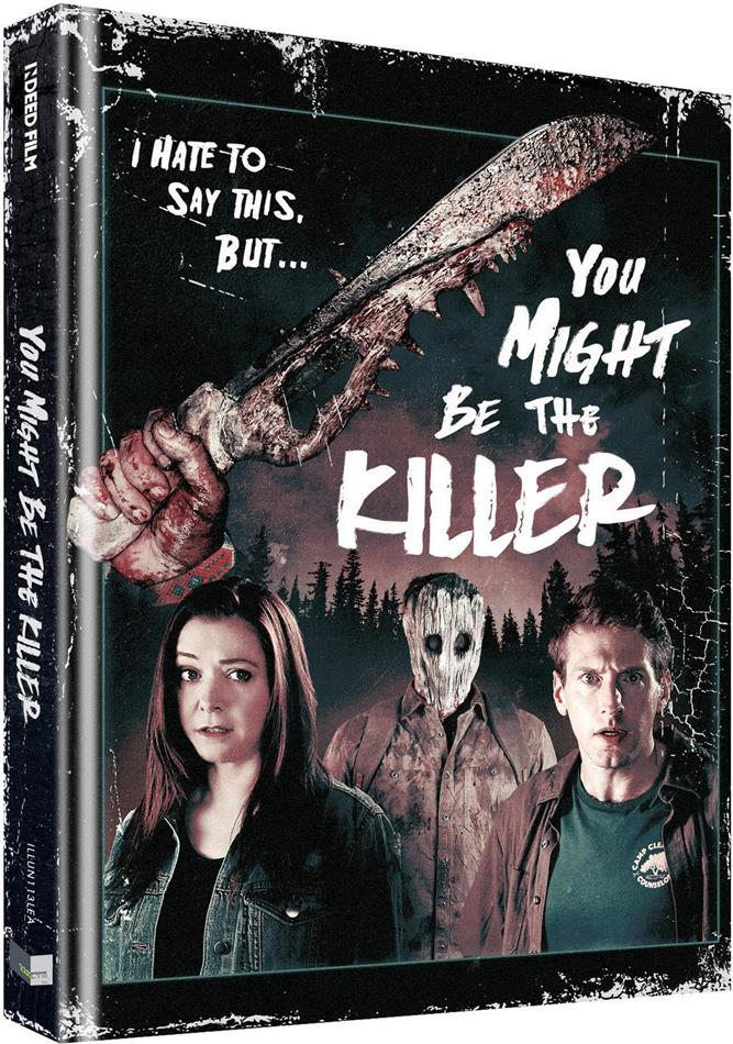 You Might Be the Killer (2018) (Cover B, Limited Collector's Edition, Mediabook, Uncut, Blu-ray + DVD)