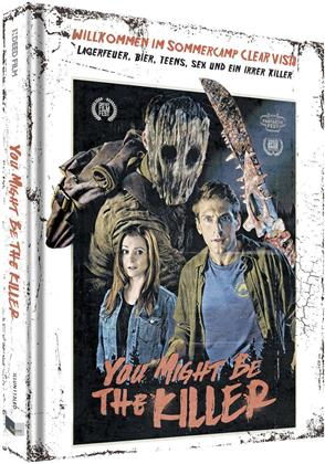 You Might Be the Killer (2018) (Cover D, Limited Collector's Edition, Mediabook, Uncut, Blu-ray + DVD)