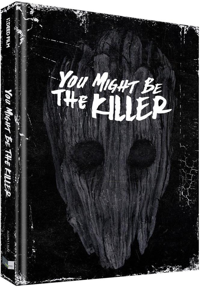You Might Be the Killer (2018) (Cover E, Limited Collector's Edition, Mediabook, Uncut, Blu-ray + DVD)