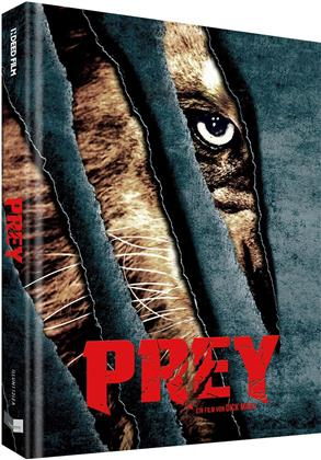 Prey (2016) (Cover A, Collector's Edition Limitata, Mediabook, Uncut, Blu-ray + DVD)