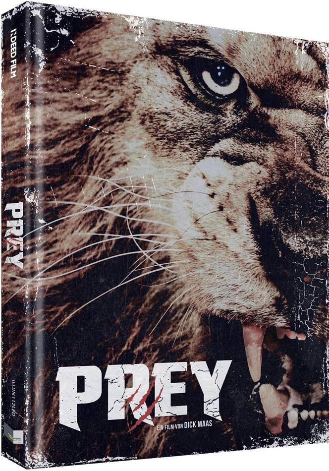 Prey (2016) (Cover D, Limited Collector's Edition, Mediabook, Uncut, Blu-ray + DVD)