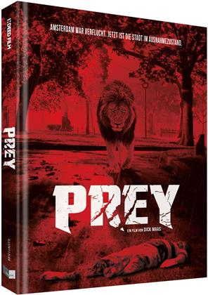 Prey (2016) (Cover E, Limited Collector's Edition, Mediabook, Uncut, Blu-ray + DVD)