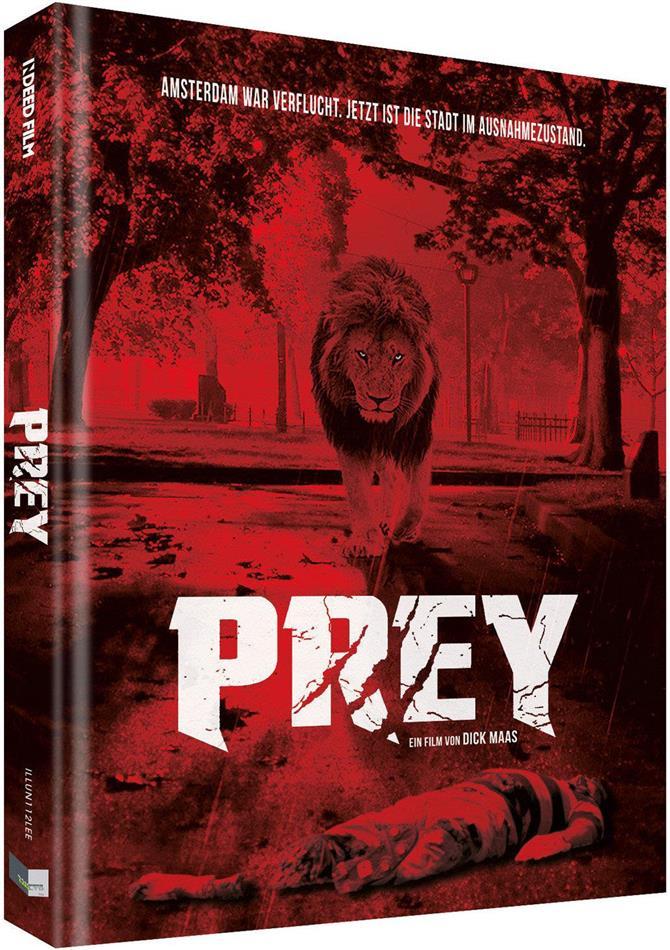 Prey (2016) (Cover E, Limited Collector's Edition, Mediabook, Uncut, Blu-ray + DVD)