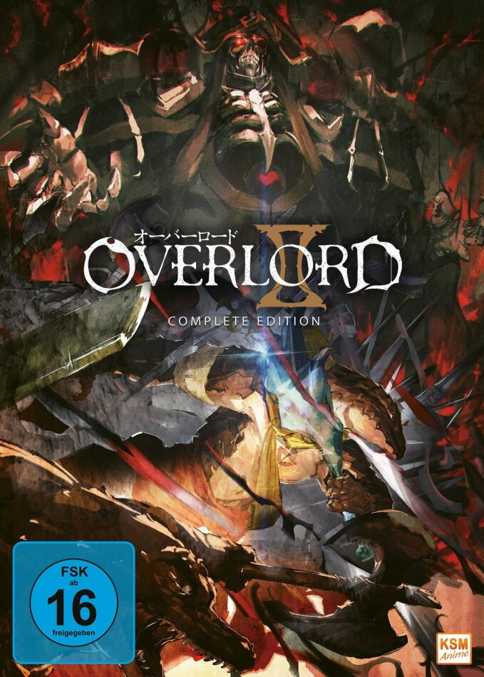 Overlord - Staffel 2 (3 DVDs)