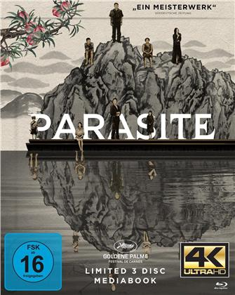 Parasite (2019) (Cover A, Limited Edition, Mediabook, 4K Ultra HD + 2 Blu-rays)