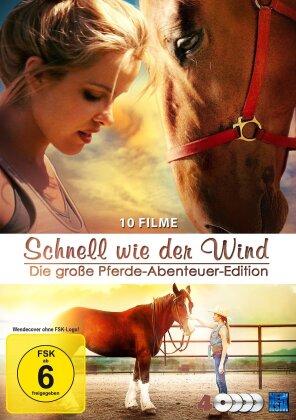 Schnell wie der Wind - Die große Pferde-Abenteuer-Edition (4 DVDs)