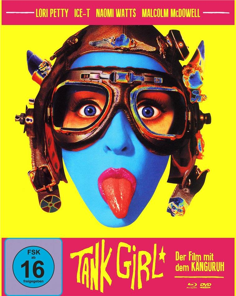 Tank Girl (1995) (Cover A, Mediabook, Blu-ray + DVD)