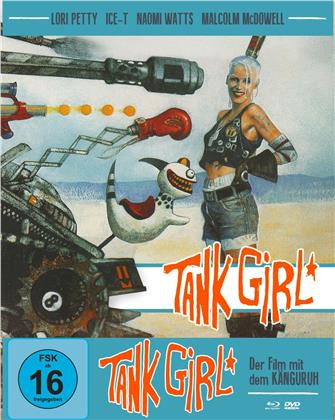 Tank Girl (1995) (Cover B, Mediabook, Blu-ray + DVD)