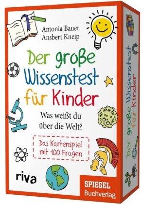 Der große Wissenstest für Kinder – Was weißt du über die Welt?