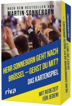 Herr Sonneborn geht nach Brüssel – gehst du mit?