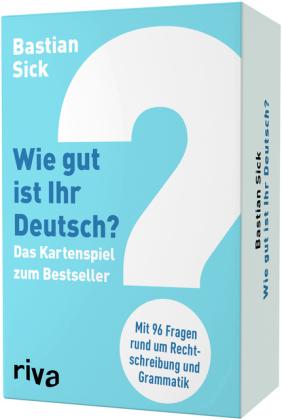 Wie gut ist Ihr Deutsch? – Das Kartenspiel zum Bestseller
