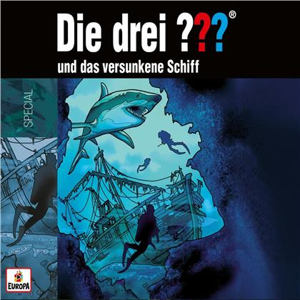 Die Drei ??? - und das versunkene Schiff (2 CDs)