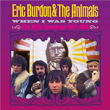 Eric Burdon & The Animals - When I Was Young - The MGM Recordings 1967-1968 (5 CDs)