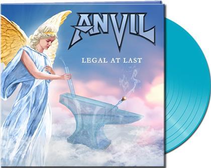 Anvil - Legal At Last (Gatefold, Turquoise Vinyl, LP)