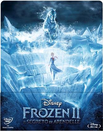 Frozen - Il regno di ghiaccio 2 - Il Segreto di Arendelle (2019) (Edizione Limitata, Steelbook, Blu-ray + DVD)