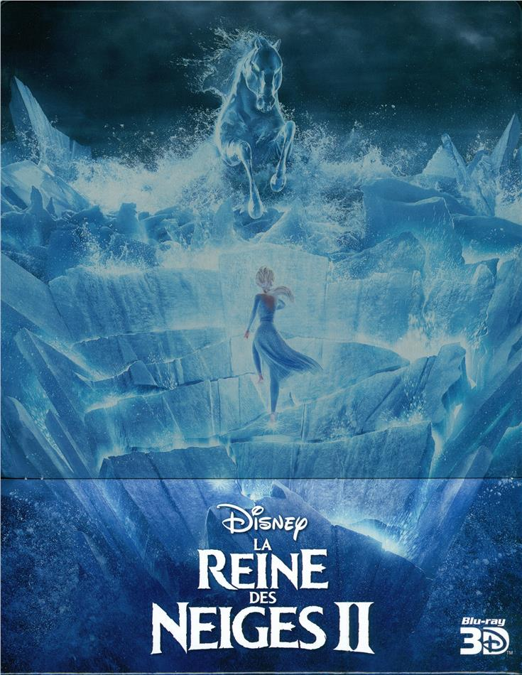 La Reine des Neiges 2 (2019) (Limited Edition, Steelbook, Blu-ray 3D + Blu-ray)