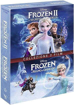 Frozen 1+2 - Il regno di ghiaccio / Il Segreto di Arendelle (2 DVDs)