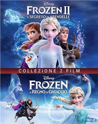 Frozen 1+2 - Il regno di ghiaccio / Il Segreto di Arendelle (2 Blu-rays)