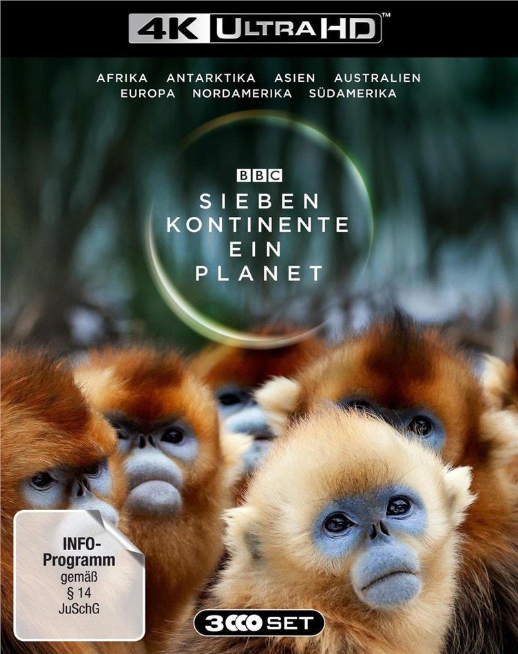 Sieben Kontinente - Ein Planet (BBC Earth, 3 4K Ultra HDs)