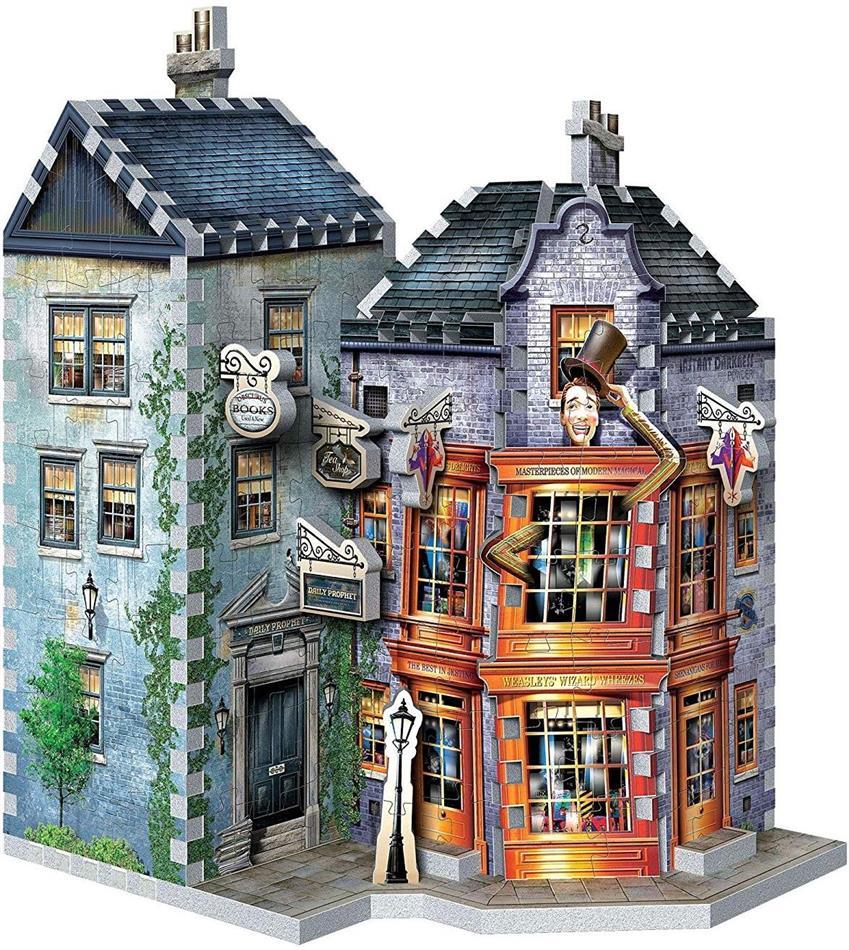 Harry Potter: Weasleys zauberhafte Scherze & Tagesprophet - 285 Pieces 3D Puzzle