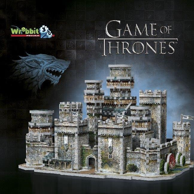 Game of Thrones Winterfell 3D Puzzle - 910 pieces