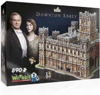 Downton Abbey 3D Puzzle - 890 pieces