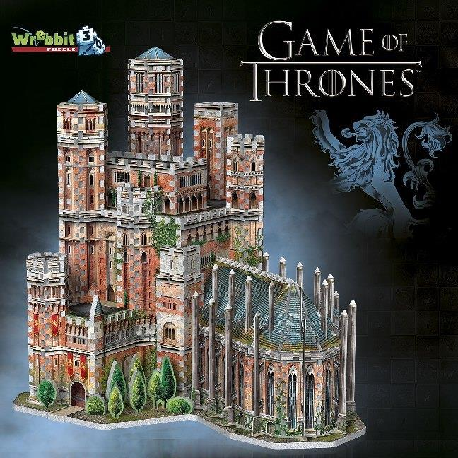 Game of Thrones Roter Bergfried / The Red Keep - 845 Pieces 3D Puzzle