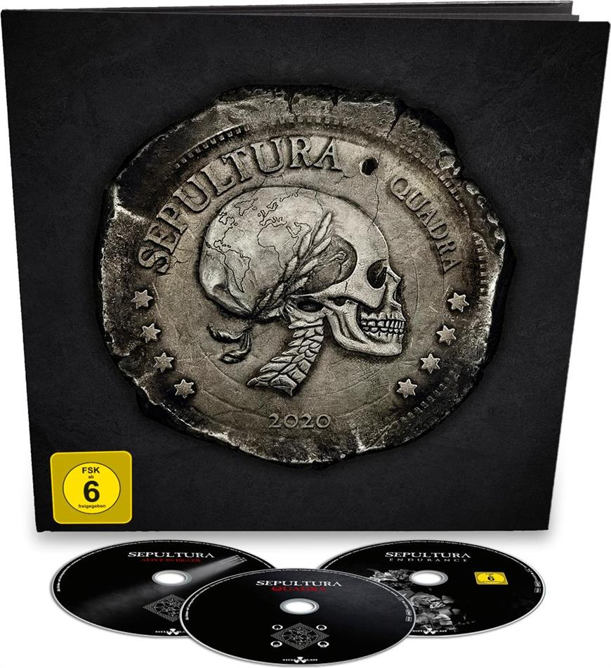 Sepultura - Quadra/Live In Brazil (Earbook, 2 CDs + Blu-ray)