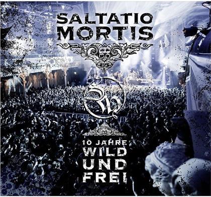 Saltatio Mortis - 10 Jahre Wild Und Frei (CD + DVD)