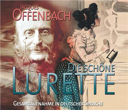 Jacques Offenbach (1819-1880), Gottfried Kassowitz, Hella Jansen, Frank Folker & Rundfunkorchester Leipzig - Die schöne Lurette (2 CDs)