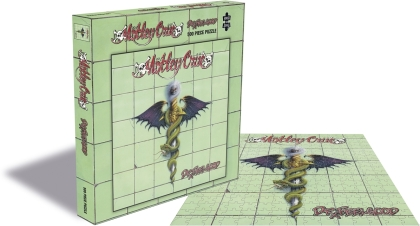 Motley Crue - Dr Feelgood (500 Piece Jigsaw Puzzle)
