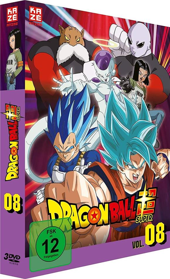 Dragon Ball Super - Vol. 8: Arc 5 - Universum-Turnier (3 DVDs)
