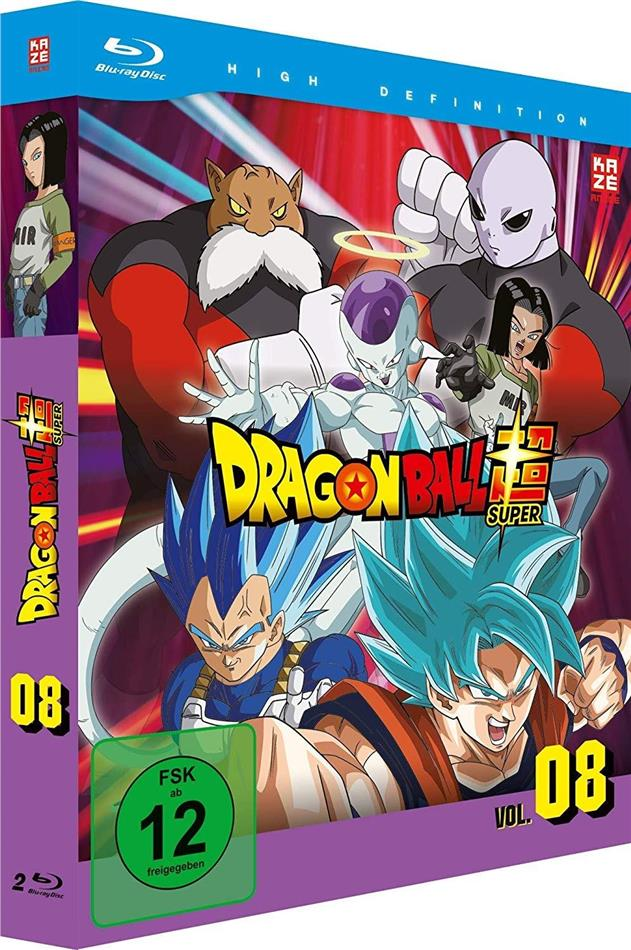 Dragon Ball Super - Vol. 8: Arc 5 - Universum-Turnier (2 Blu-rays)