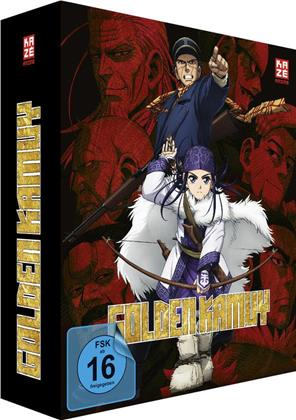 Golden Kamuy - Staffel 1 - Vol. 1 (+ Sammelschuber, Limited Edition)