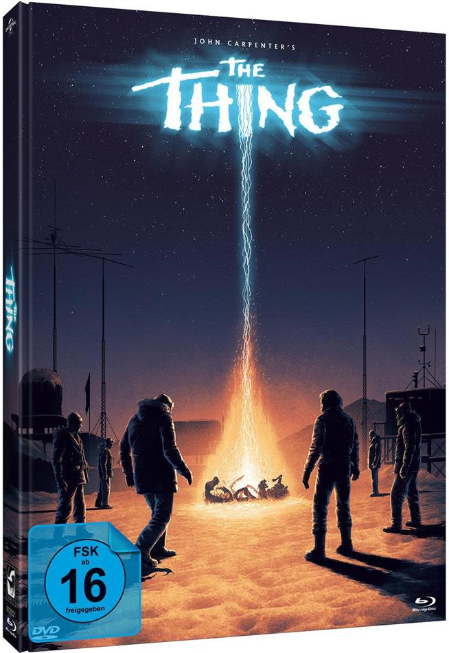 The Thing (1982) (Ferguson Cover, Limited Edition, Mediabook, 2 Blu-rays + DVD)