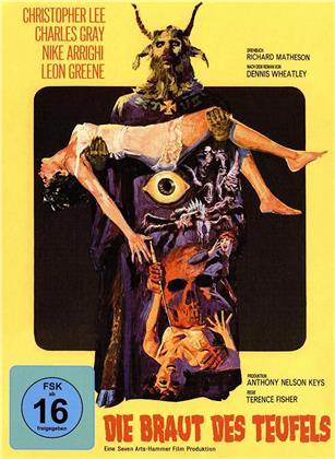 Die Braut des Teufels (1968) (Hammer Edition, Cover B, Limited Edition, Mediabook, 2 Blu-rays)